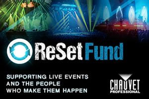 chauvet professional reset fund with stage lights