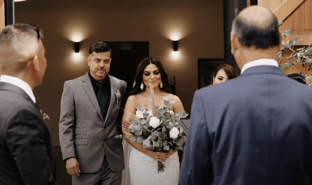 small micro wedding with livestreaming