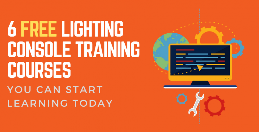 6 FREE Lighting Console Training Courses You Can Start Learning Today